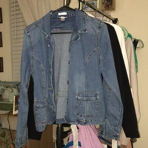 Christopher & Banks Jean jacket
